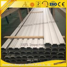 Os fabricantes de alumínio do perfil fornecem o tubo de alumínio anodizado