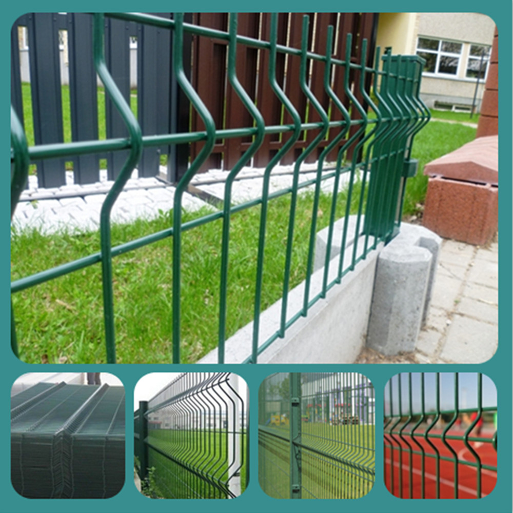 PVC or galvanized welded wire fence