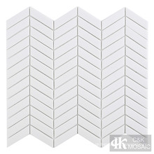 White Glass Mosaic Tile Sale für Badezimmerdekoration
