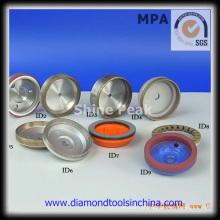 Diamante e CBN rebolo para carboneto de tungstênio