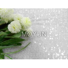 """CHIFFON PD WITH 7MM CLEAR SEQUIN EMBD 50/52"""""""