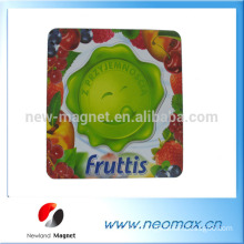 3D fruit custom pvc rubber fridge magnets