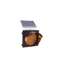 Road Deceleration Flashing LED Solar Traffic Warning Light