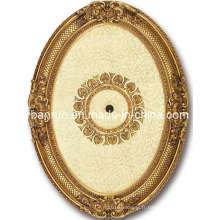 Médaillon de plafond luxueux artisanal de fibre de verre pour la Russie (BRRB0811-F-088)