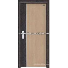 Hochwertige MDF-Tür mit PVC abgedeckt / PVC-Tür (JKD-8018) für Innenraum-Design aus China Top 10 Marken