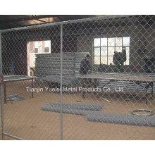 Порошковое покрытие Железные ограждения / временные ограждения, используемые для ограждения ограждения из стали / стали с низкой ценой