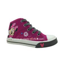 Fashion Cartoon Shoes Children Shoes Sneaker (X166-S&B)