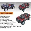 Control de radio Vechile Hobby Gas RC Buggy, coche de juguete teledirigido