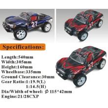 Nitro Controle Remoto Brinquedos 1/8 RC Modelo de Carro com Luz