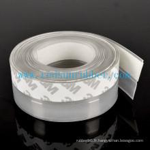 Bande de joint de porte en silicone transparent adhésif OEM