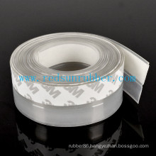 OEM Adhesive Clear Silicone Door Seal Strip
