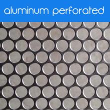 Алюминиевая перфорированная металлическая пластина