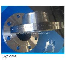 ASME B16.5 Sch40 Weld Neck Carbon Steel Flange