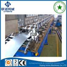 Hochleistungs-Lichtleiste Stahl Rollenformmaschine lange Spannweite