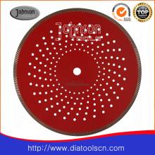 Outil de coupe de diamant: lame de scie frittée à turbine 350 mm