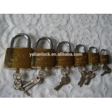 Cerradura de seguridad ideal plateada oro entero de la fábrica