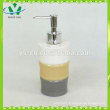 Bambu design cerâmica sabão líquido dispenser