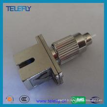 Adaptateur fibre optique femelle FC Male-Sc