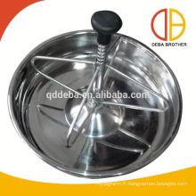 Distributeur de boulons / goulotte en plastique