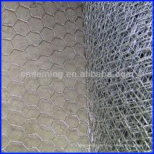 DM galvanizado rede de arame hexagonal