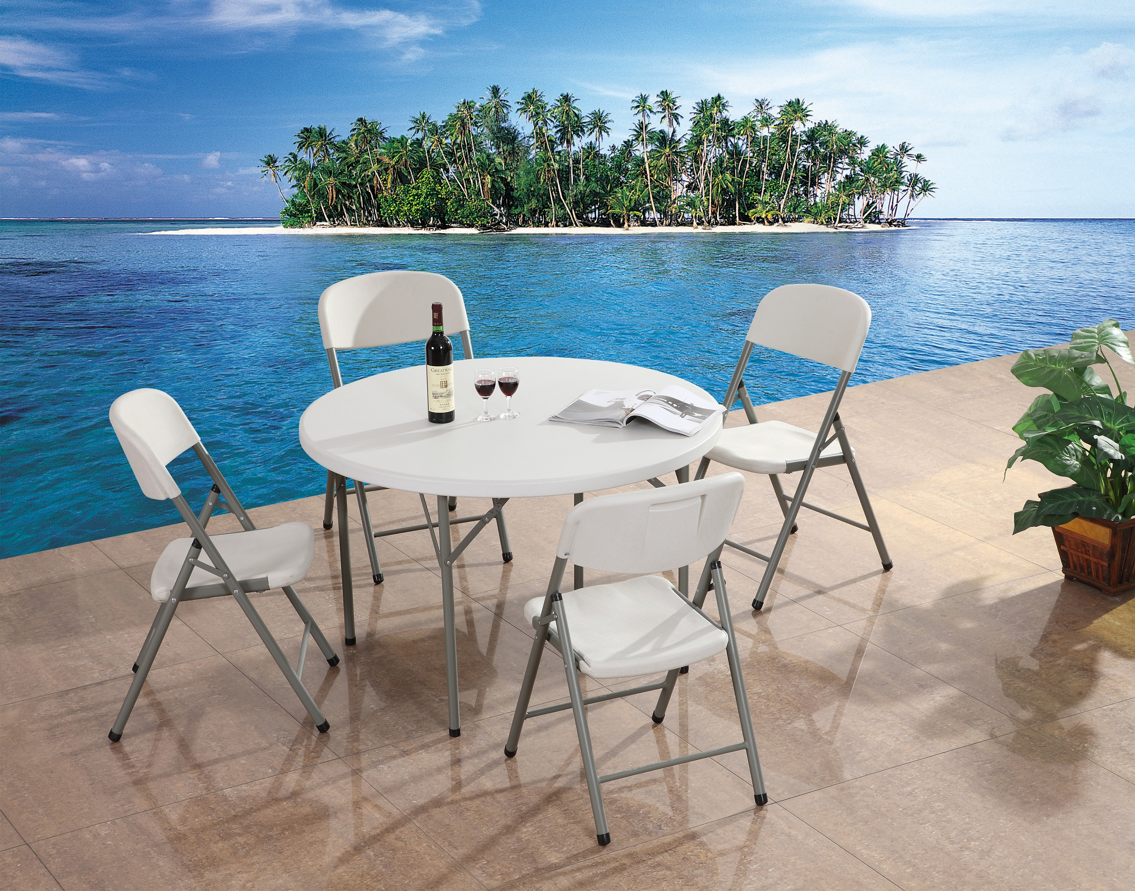 Plastic Folding Tables Wholesale