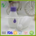 Bouteille de lait en poudre ronde en PEHD ronde à la qualité alimentaire en plastique avec couvercle