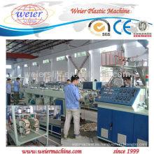 SJZ80 / 156 horario 20 máquina del extrusor del tubo del suministro del gas / del agua del PVC