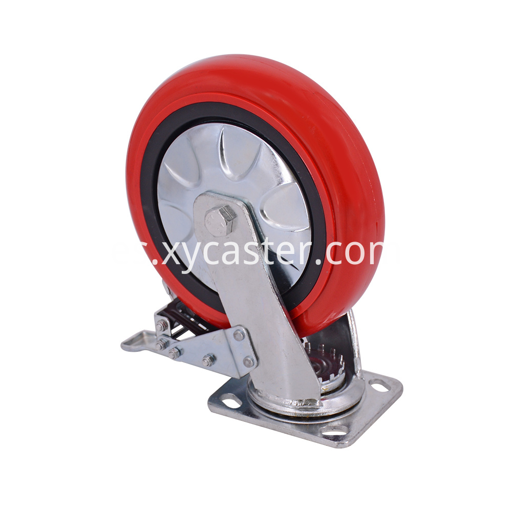 8 Inch Swivel Caster With Brake
