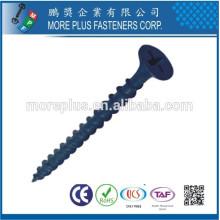 Fabricante em Taiwan Carbon Steel C1022 Black Phosphate Galvanized Drywall Screws Gypsum screw