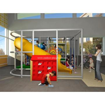 Indoor Mini Playground Estruturas Para Pequenas Jardas