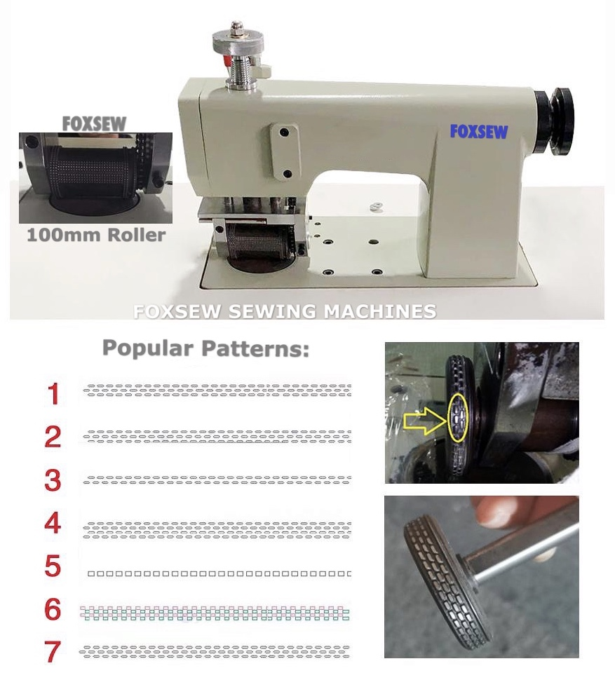 Ultrasonic Lace Sewing Machine 100mm Width Roller