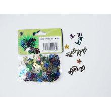 Confetti de glitter de aniversário