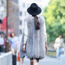 Outstanding manufacture women fur vest women