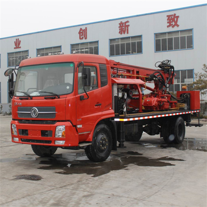 Truck Water Well Rig 10