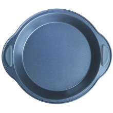 Silicone grip round cake mould