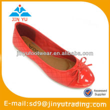 Chaussures sexy en cuir rouge