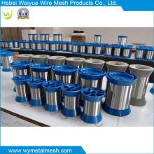 Fil d'acier inoxydable de haute qualité 316L