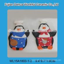 Imanes del refrigerador 2015 con diseño del cocinero del pingüino