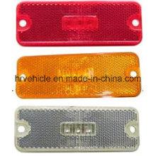 4 '' forma rectángulo LED Lámpara de marcador lateral con reflector