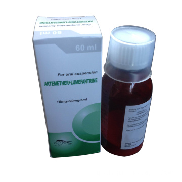 GMP Artemether + Lumefantrine Dry Suspension 180mg + 1080mg / 60ml