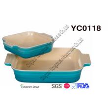 Stoneware Bake Set (conjunto de 2)