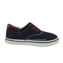 Sapato de lona para caminhada infantil clássico (9985-S & B)