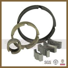 Diamant-Sinterbohr-Bit-Segmente für Blindkörper (SY-CDBS-122)
