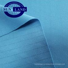 ткань сетки pique полиэфира антистатическая для электронной рабочей одежды фабрики