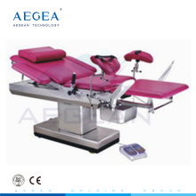 AG-C102B height adjustable hospital surgical electric gynaecology examination table