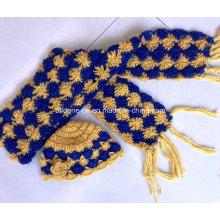 Design nach Maß nach Auftrag Hand gehäkelte gestrickte Schals Schals