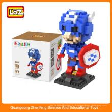 Пластиковые блоки для детей, образовательные строительные блоки мини супер игрушка для мужчин