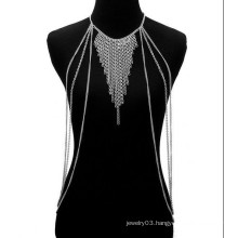 Fashion Gold/silver Chains necklace Punk Rock Body Chain for women