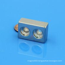 countersunk block NdFeB Neo ndfeb magnet supplier india