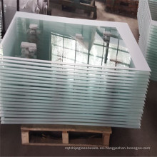Proporcione la puerta de cristal moderada de la seguridad, vidrio de impresión para las propiedades inmobiliarias